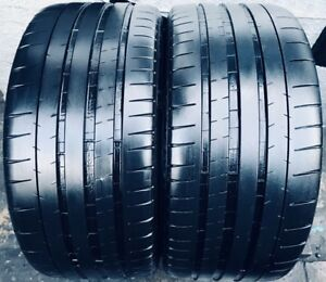 2 255 35zr19 96y Michelin Pilot Super Sport 7 7 5 32 Tread