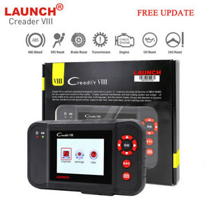 Launch X431 Creader Viii Obd2 Auto Diagnostic Tool Car Code Reader Scanner Srs