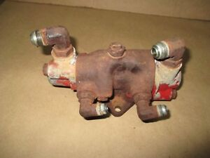 Farmall International 806 Power Steering Pilot Valve