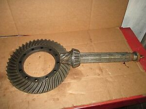 Oliver 1755 Ring Pinion Gear Set 168262a 168261a 7 44