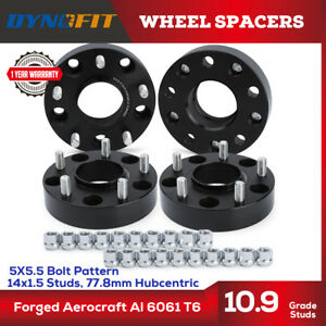 2012 2018 Dodge Ram 1500 5x5 5 Hub Centric Wheel Spacers 1 5 Inch 14x1 5 Studs