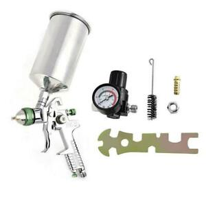 2 5mm Hvlp Gravity Spray Gun Automotive Paint Primer Sprayer Gauge Tool Kit