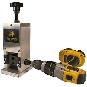 Steel Electrical Dragon Tools Wra15 Benchtop Automatic Wire Stripping Machine