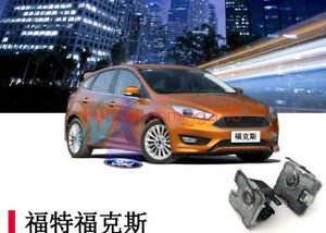 2x Rear Side Mirror Laser Led Courtesy Shadow Light For Ford Focus 2015 2017
