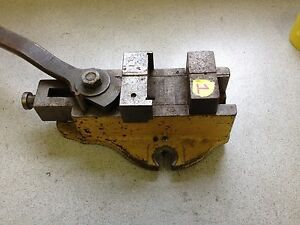 Quick Release Milling Machine Drill Press Cam Lever Vise 3 Wide 2 5 Opening