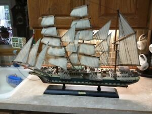 1831 Reliance 32 Large Wood Model Ship Transported Convicts