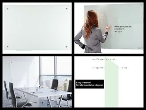 Glass Dry Erase Board frosted 40x32 Inches