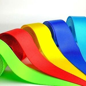 Custom Color Seat Belt Webbing Replacement Choose Your Color