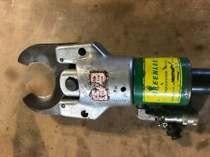 Greenlee 751 Hydraulic Cable Cutter Head Use W Knockout