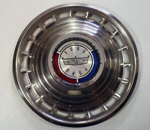 Vintage Ford Galaxie 500 14 Wheel Cover Hubcap