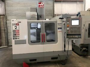 Haas vf 2ss Cnc Vertical Machining Center 2004 super Speed gmt 1746