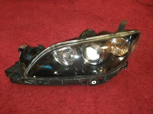 2004 2009 Mazda 3 Lh Left Xenon Hid Headlight Assembly Look