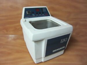 Bransonic Branson 1210r mth Ultrasonic Cleaner With Heater Free Shipping