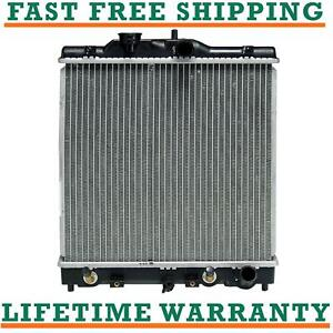 Radiator For 92 00 Honda Civic Del Sol 1 Core Thick Fast Shipping Direct Fit