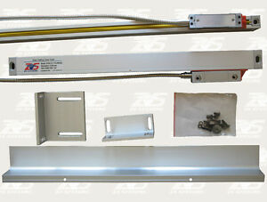 Glass Scale Linear Encoder 24 Travel 1 Micron 1um Resolution For Acurite Anilam