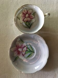 Vintage Tea Cup Saucer China Made In Japan