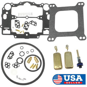 Carb Kit For Edelbrock 1477 1400 1404 1405 1406 1407 1409 1411 With Pump Assy Us