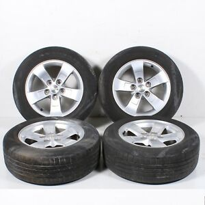 13 14 15 Chevrolet Malibu Set Of 4 Wheel Alloy Rims And Tire 215 60 R16 Oem