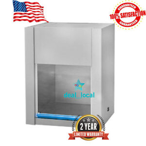 Horizontal Laminar Flow Hood Air Flow 60cm Clean Bench Workstation Hd 650