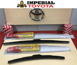 2012 2017 Toyota Camry Genuine Oem Oe Style Sightline Wiper Blade Kit
