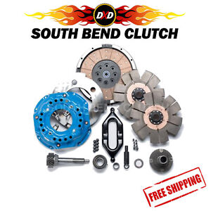 Southbend Stage 5 Dual Disc Clutch Kit For 94 04 Dodge Cummins Nv4500 5 Speed