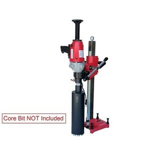 5 Inch Diamond Core Drill Machine With Stand Hand Held core Bit Not Included