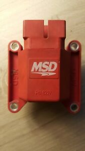 Msd 8227 Ignition Coil E Core Design Direct Fit Mustang Foxbody 302 Sbf 5 0