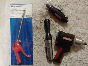 New Craftsman 1 2 Impact Ratchet Cut off Wheel And Napa Tele Blow Gun