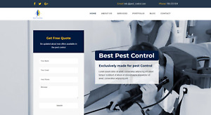 Pest Control Website Template For Sale Pest Control Wordpress Template