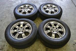 Mercedes Benz Ml350 17 Chrome Rims And Tires