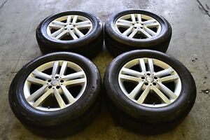 Mercedes Benz Gl450 And Ml350 Oem 19 Rims And Continental Tires