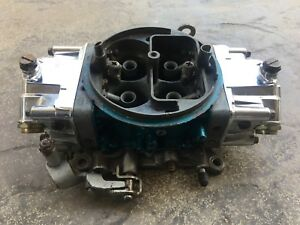 Holley 4781 Carburetor 850 Cfm Double Pumper Race Carb Amc Chevy Ford Mopar