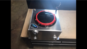 Water To Air Intercooler Tank 5 5 Gallon Upgraded Cap With Rule 1100