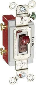 Hubbell Hbl1221pl Single Pole Toggle Switch W neon Lamp
