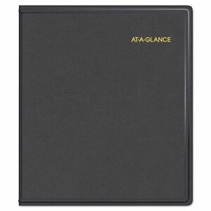 At a glance Refillable Multi year Monthly Planner 9 X 11 White 2017 2021