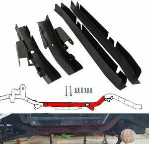 Rear Trail Arm Ad Skid Plate Center Frame Rust Repair For 97 02 Jeep Wrangler Tj