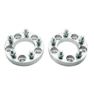2pc 1 Wheel Spacers Adapter 5x114 3 5x4 5 82 5cb 1 2 X20 For Ford Mustang