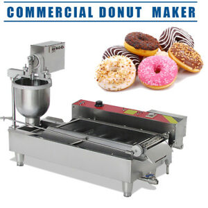 Commercial Electric Automatic Doughnut Donut Machine Donut Maker 6kw Dhl