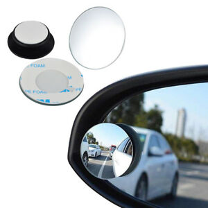 2x Rear Side View Blind Spot Mirror Universal Car Auto 360 Wide Angle Convex