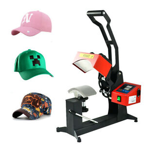 New Hat Cap Gas Spring Heat Sublimation Transfer Press Machine 14 9 9cm