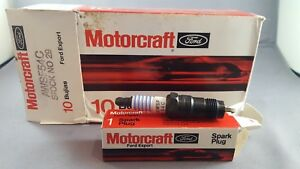 Motorcraft Awsf54c Alternative Spark Plugs 10 Pack Fits 84 87 Ford Thunderbird
