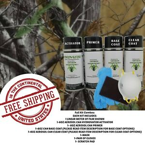 Hydrographic Water Transfer Hydro Dip Full Kit Activator 1m Tree Camo 11 Film