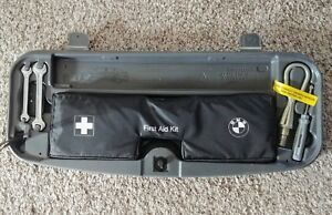 2002 2008 Bmw 7 Series E65 E66 E67 E68 Trunk Emergency Tool 1st Aid Kit Oem