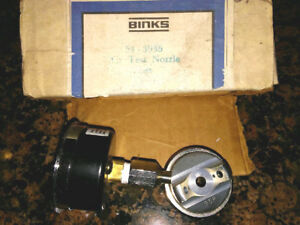 Binks 54 3935 95p Air Test Nozzle Mach1 Bbr Paint Spray Guns