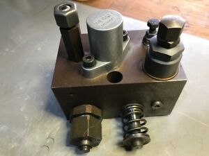 Wessel Hydraulic Valve For Polar Cutter