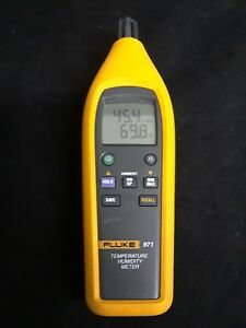Fluke 971 Temperature Humidity Meter Preowned Great Condition