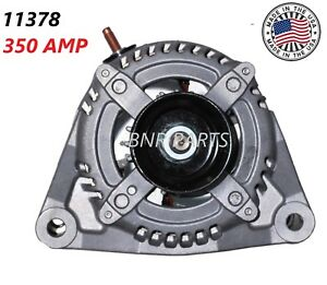 350 Amp 11378 Alternator Dodge Ram 2500 3500 New High Output Hd 6 7l 2007 13