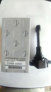 New Genuine Nissan Ignition Coil 22448 ed000 uf549 uf509 uf719 For