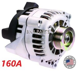 160 Amp Ls1 Chevy Camaro Firebird New Alternator High Output Hd 98 02 5 7l