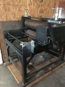 Vintage 1960 s Charles Brand Etching Press Just Needs Some Love And Attention